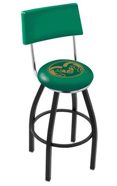 Colorado State University Bar Stool with Back