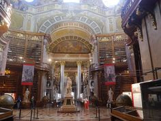 Most Beautiful Libraries: Austrian National Library