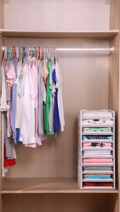 Small Closet Organization, Wardrobe Storage, Bra Storage, Small Wardrobe, Clothing Storage, Wardrobe Closet, Organization Ideas, Modern Wardrobe, Bedroom Wardrobe