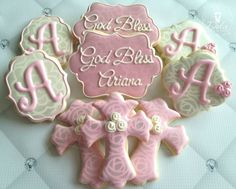 Baptism Christening Communion Confirmation by DolceCustomCookies