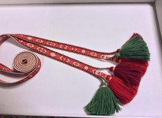 Forklebånd Norway, Tassel Necklace, Tassels, Weaving, Band, Jewelry, Jewlery, Jewels, Ribbon