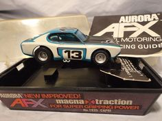 Aurora AFX Capri #13 HO Slot Car Original Box Magna Traction #1935 1970's  #Aurora #Capri