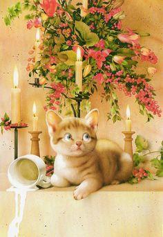 https://flic.kr/p/d6bzGC   Muramatsu Cat 29--Not available   Makoto Muramatsu Cats Postcards Collection Trade m29 one for jingzhi one for sarkka