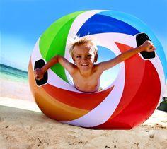 Intex Schwimmreifen Color mit Griff (Poolparty)
