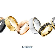 Contemporary and Traditional Wedding Bands by Lashbrook