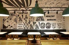 pasta factory interior design - Cerca con Google