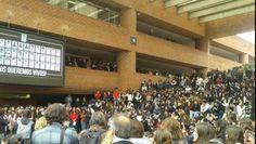 Estudiantes de la Ibero también apoyan a normalistas de Ayotzinapa