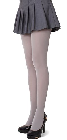 230f008efd689 Amazon.com: CozyWow Women's Solid Color Opaque Footed Tights Goldenrod:  Clothing