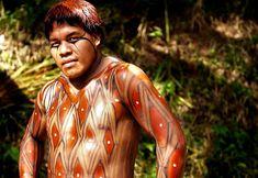 Pintura corporal indígena