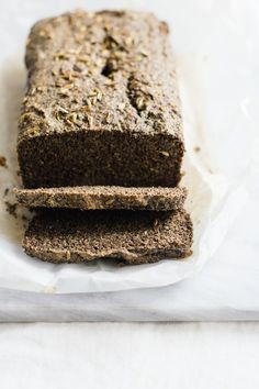 Rye Flaxseed Loaf | Nutrition Stripped