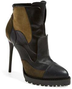 Alexander McQueen Patchwork Boot (Women)