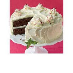 Peppermint Party Cake
