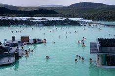 iceland blue lagoon summer