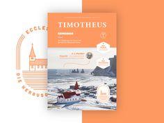 Timotheus Magazin #26 (Final Cover) by Peter Voth #Design Popular #Dribbble #shots