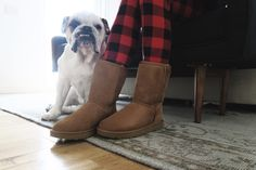 """On the 10th Day of Damsel, UGG is giving away 10 Classic Short Bootsvalued at $160! When I'm not trotting around Paris or New York or getting all dolled up in all sorts of uncomfortable footwear, you can always find me wearing my """"old faithfuls"""" running around the house and Los Angeles – my favorite … read on"""