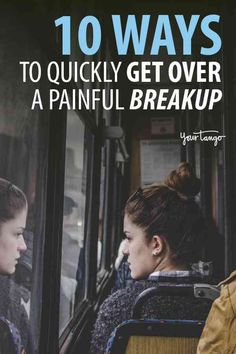 Knowing how to break up with someone you love is never easy but if you want to deal with the pain of rejection and are wondering how long it will take here are 10 tips for how to get over a breakup as quickly as possible. How To Forget Someone, Breaking Up With Someone You Love, Getting Over Someone, Getting Over Him, Get Over It, How To Know, Dealing With Breakup, Moving On After A Breakup, Dealing With Grief