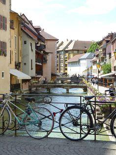 Annecy, France Annecy France, My Photos, Castle, City, Viajes, Alps, Park, Boats