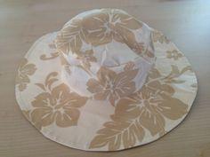 Tuto chapeau (bob / capeline) réversible - Créations by-iaoraNanou