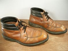 Vintage Red Wing brown leather Mens Rubbernecks Chukka by Joeymest, $155.00