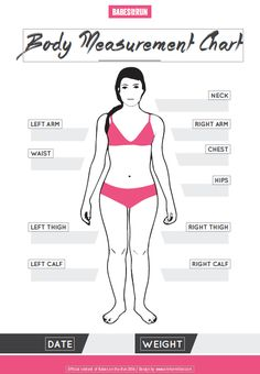 Downloadable Measurements Chart. Babes on the Run has changed to SMART Body Project. See the article here: www.smartbodyproject.com
