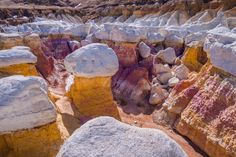 One of the many perks to living in Denver is the close proximity to epic hiking opportunities, including the one-of-a-kind Paint Mines Interpretive Park. Colorado Hiking, Colorado Mountains, Colorado Springs, Rocky Mountains, Hikes Near Denver, Places To Travel, Places To Go, Travel Destinations, Living In Denver