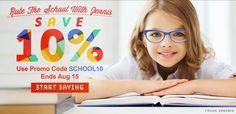 Super Deals on Back to School Glasses! Prescription frames from $6.95!