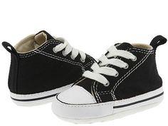 a37b4e0b63c3 Converse kids chuck taylor first star core crib infant toddler black white