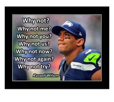 Seahawks Memes, Seahawks Football, Seattle Seahawks, Football Players, Football Motivation, Football Quotes, Wall Art Quotes, Quote Wall, Inspirational Posters