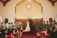 Rose Chapel wedding