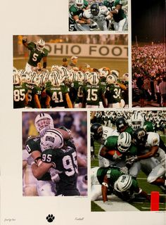 Athena Yearbook, 2006 :: Ohio University Football :: Ohio University Archives