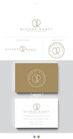 minimal photographer logo initials male businesscards simple modern gender nutral branding kit Identity minimal wedding photographer