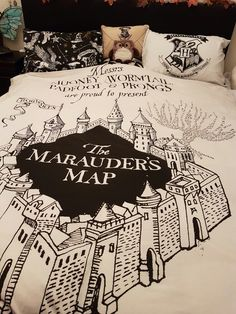 My Harry Potter bed. I'm 29 and proud to be a potterhead! Primark: duvet cover and pillow