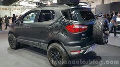Ford EcoSport custom rear three quarters left at 2015 Thailand Motor Expo