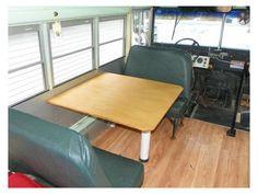 School Bus Turned Tiny House
