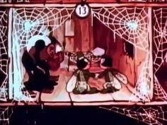 A spider, owner of the Cobweb Hotel, is waiting his clients the flies. Mushroom Tea, Childhood Memories, Spider, Waiting, Cartoons, Films, Happy, Youtube, Movies