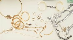 """My philosophy on jewelry is """"I'll buy it if I don't have to take it off."""""""