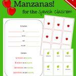 Great series of free Spanish printouts