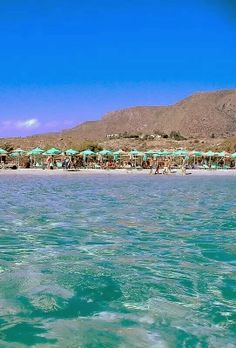 Elafonissi Beach, Crete, Greece