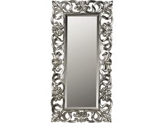 Silver Scroll Leaner Mirror - Value City Furniture  #ValueCityPinToWin