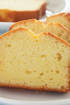 Vanilla Cream Cheese Pound Cake (Weight Watchers)