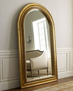 love the shape of this mirror