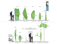 Mushrif Park Signage and Wayfinding by Patrick Kennedy, via Behance