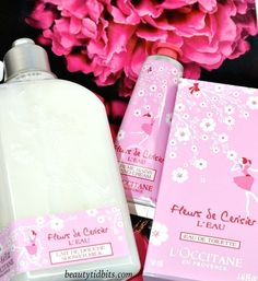 L'Occitane Cherry Blossom L'Eau Collection Spring 2015