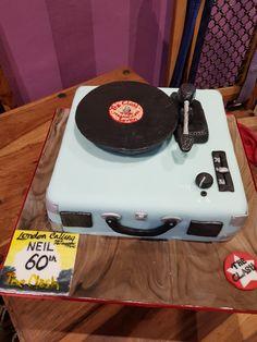60th birthday. Record player
