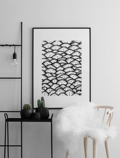 Feather Pattern Affiche