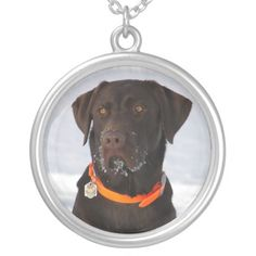 Shop Chocolate Labrador Retriever Necklace created by DogPoundGifts. Brown Labrador, Chocolate Labrador Retriever, Retriever Puppies, Chihuahua Love, Black Felt, Metal Necklaces, Elephant Gifts, Dog Gifts, Unisex