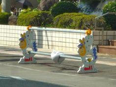 Les barrières de travaux routiers délirantes du Japon  2Tout2Rien