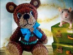 medvídek Cukrblík - návod Teddy Bear, Toys, Animals, Animais, Animales, Animaux, Toy, Animal, Games