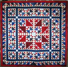 QM Scrap Squad: Majestic Garden meets Quilt of Valor by Rebecca Ball. Isn't it gorgeous?!