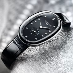 @longines - With its unique oval shape, the #Longines Symphonette is the perfect adornment for women who embrace modernity. #WatchWednesday #EleganceIsAnAttitude #mazzucchellis #longines #swisswatch #watch #jewellery #giftsforher #womensfashion #womensstyle